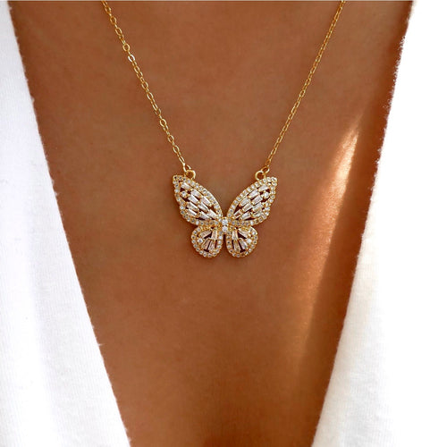 Ethereal Butterfly Necklace