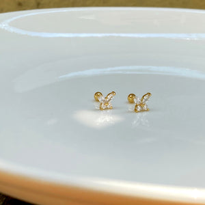 Hope Butterfly Studs