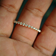 Half Eternity Diamond Band with Shared Two Prong Setting in Solid Gold (LR276)