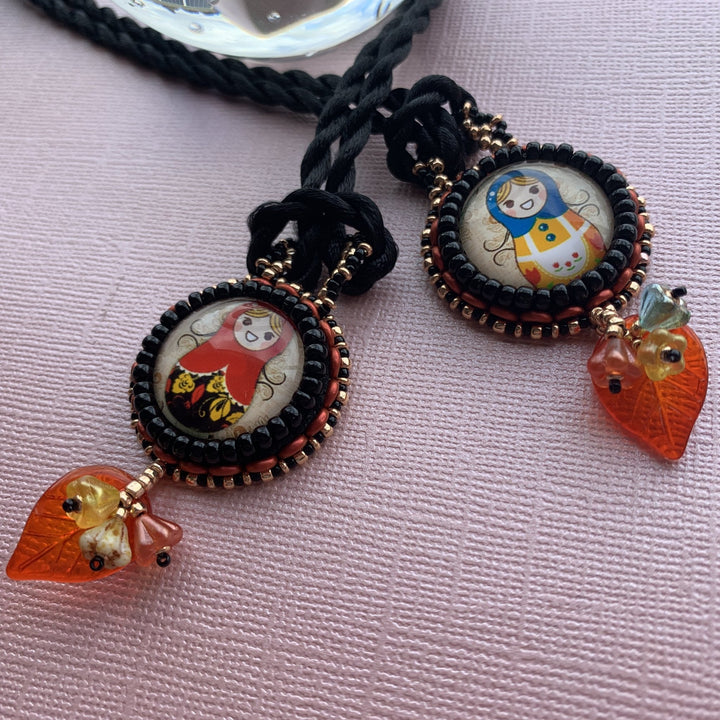 Babushka Pendant - On A String
