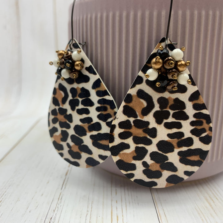 Bold Leopard Earrings - On A String