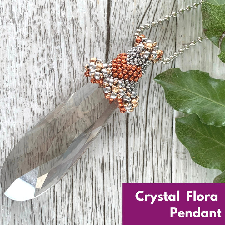 Crystal Flora Pendant Virtual Workshop (12th October) - On A String