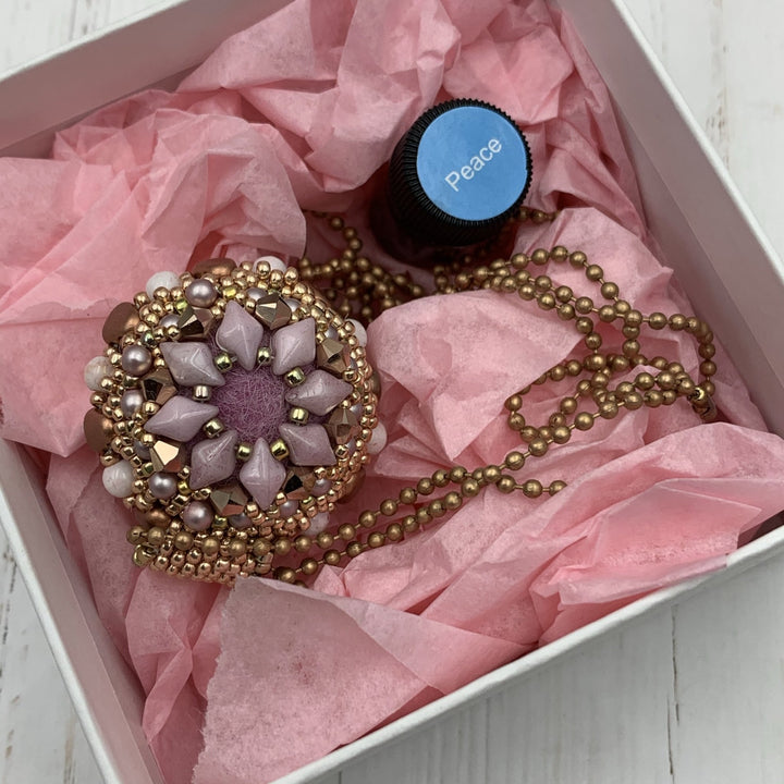 Custom Diffuser Pendant With Gift Box - On A String