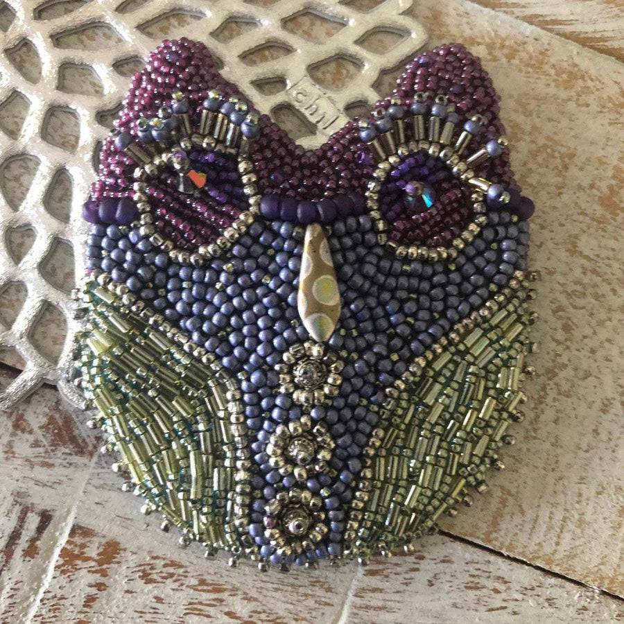 Cute Owl Beading Tutorial - On A String