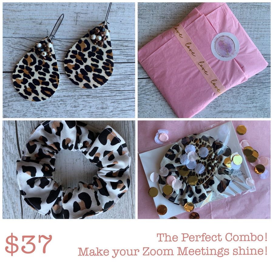 Earrings & Scrunchie Gift Pack - On A String