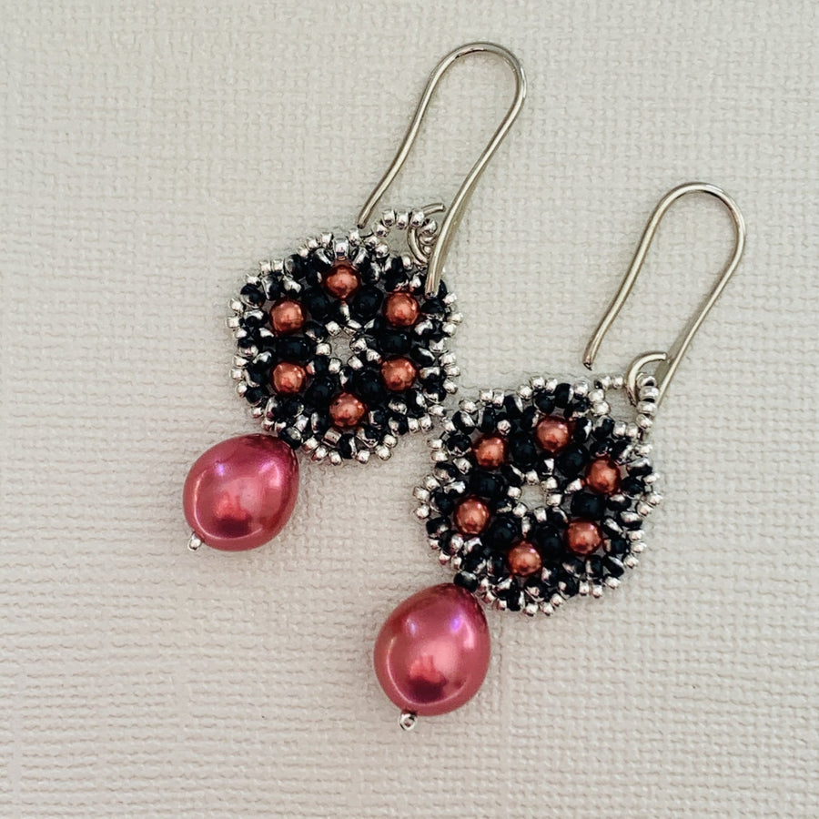 Hayley Drop Earrings - On A String