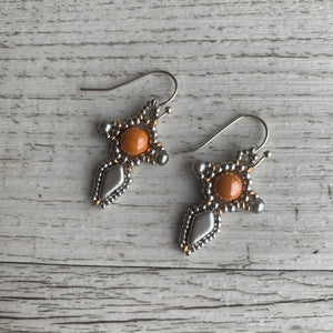 Kite Cross Earrings - On A String