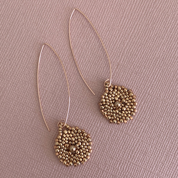 Le Disque Earrings - On A String