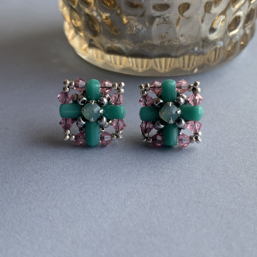 Piazza Stud Earrings - On A String