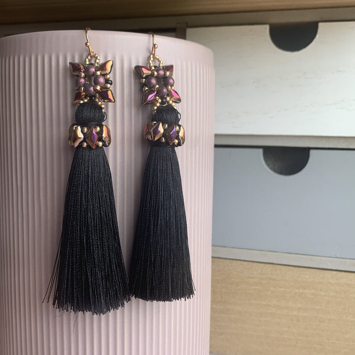 Quattro Duo Tassel Earrings - On A String