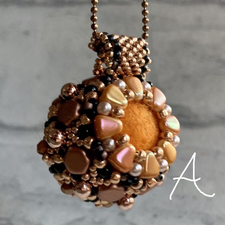 Rose Gold Essential Oil Diffuser Necklaces - On A String