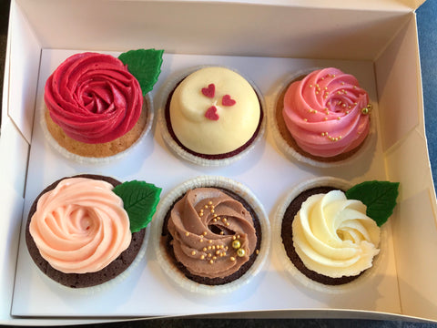 Mothers day standard Cupcake box