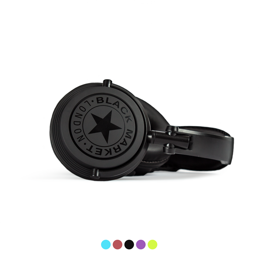 Black Market ML101 Headphones - Black
