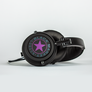 Black Market ML101 Headphones - Purple