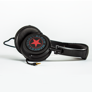 Black Market ML101 Headphones - Red