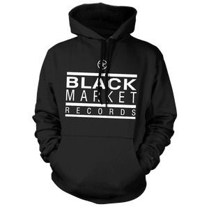 Black Market Records Classic Hoody - Black