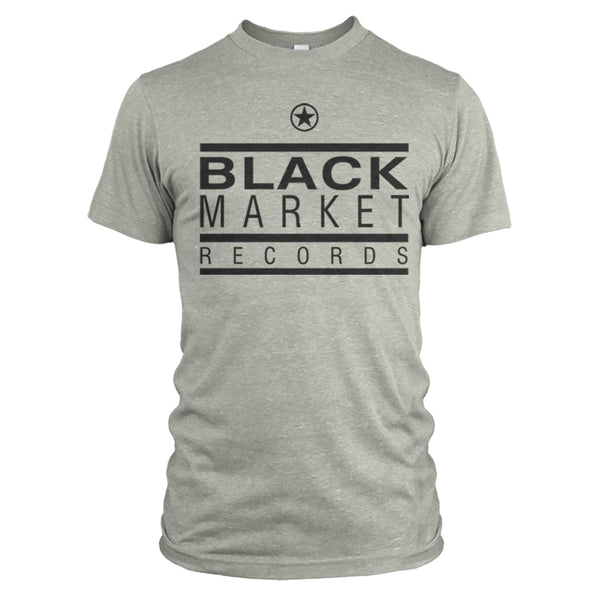 Black Market Records Classic T-Shirt - Jade Grey