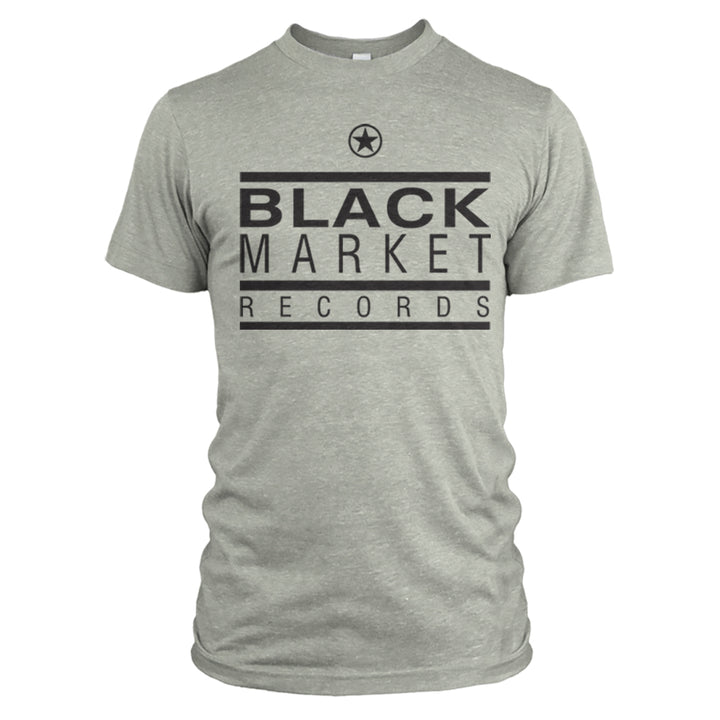 Black Market Records Classic T-Shirt - Sage Grey