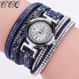 Casual Analog Quartz Rhinestone Watch