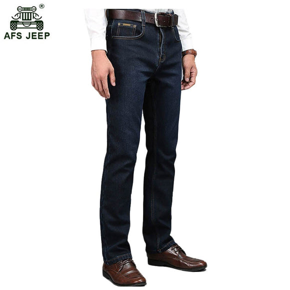 Men 's stretch Slim jeans 2017