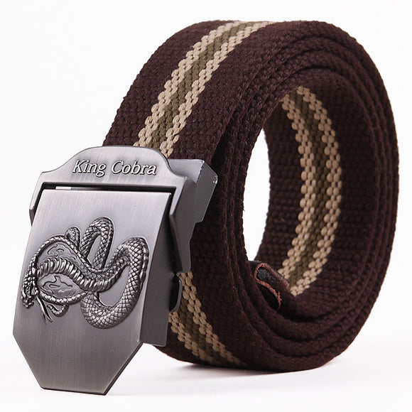 king cobra designer belt