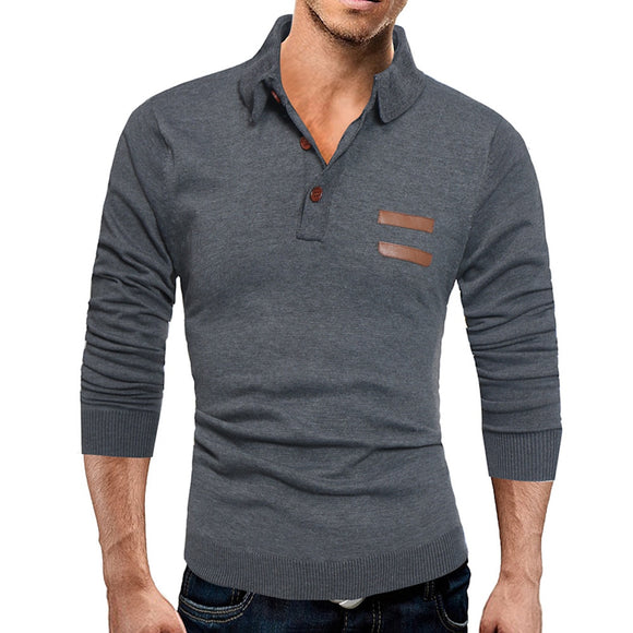Men's Pullover Slim Sweater