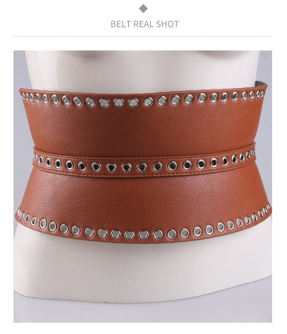 Women belt fashion decorated belts