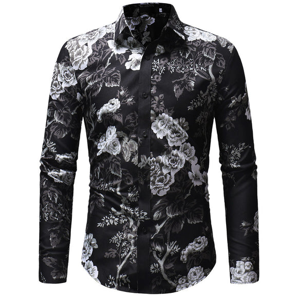 Men Printed Casual Shirts