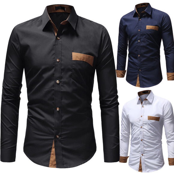 Men Business Shirt