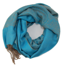 "Reversible Pashmina Women's Cheetah print Scarf Shawl Wrap 28"" x 68"" - Available in 10 Colors"