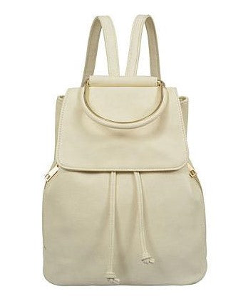 Cory Backpack/Purse (Beige)