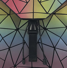 Luminous Diamond Geometric Backpack - Luminous pastel