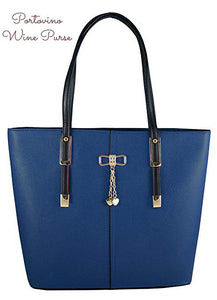 PortoVino Wine Purse (Blue)