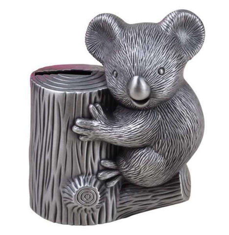 Tirelire Koala Métal - tirelire-shop.com
