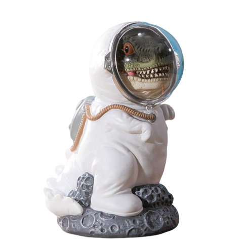 Tirelire Enfant<br> T-Rex Astronaute - tirelire-shop.com