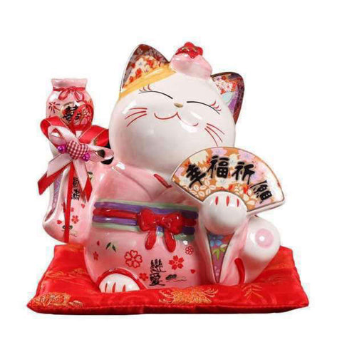 Tirelire Chat<br> Asiatique - tirelire-shop.com