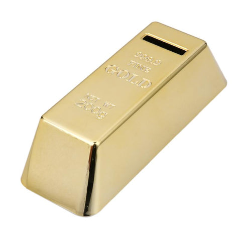 Tirelire Originale<br> Lingot d'Or - tirelire-shop.com