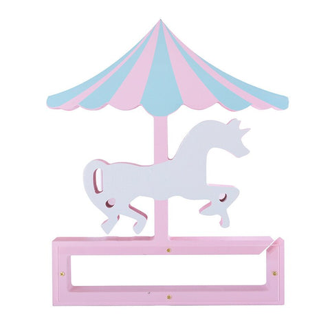 Tirelire Enfant<br> Carrousel Bois - tirelire-shop.com