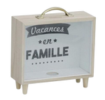 Tirelire Originale<br> Vacances Famille - tirelire-shop.com