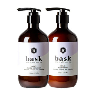 Relax Wash & Lotion Set