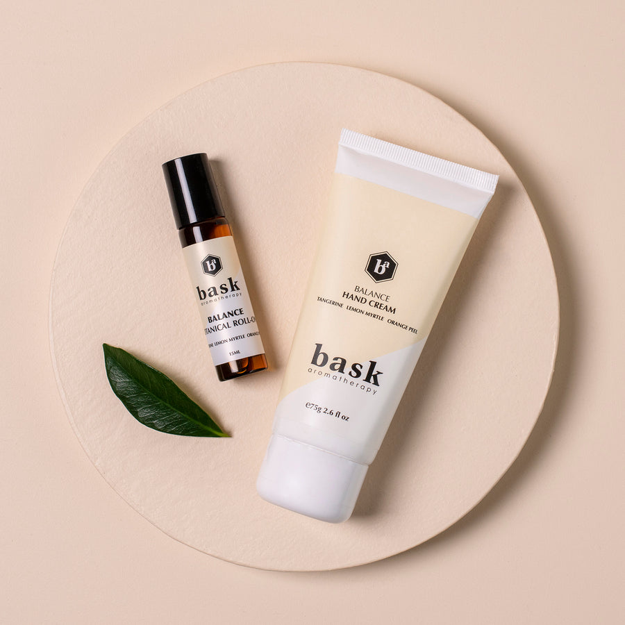 Balance Hand Cream & Roll-On Set