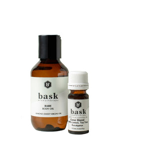 Bare Body Oil & Essential Oil Blend