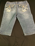 GIRL Jean Shorts by Revolution & Revolt, Size 12, PRE-OWN