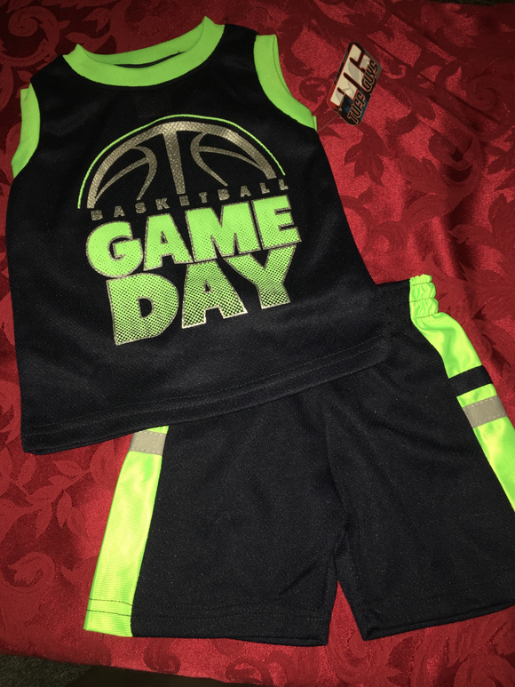 BOY Game Day Shorts Outfit, Infant/Toddler