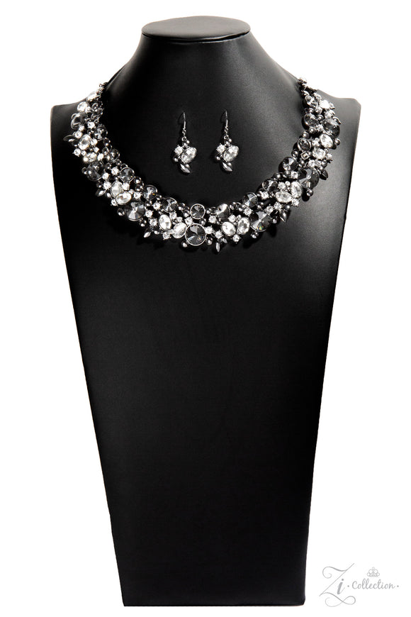 Paparazzi Zi Collection Necklace & Earring Set