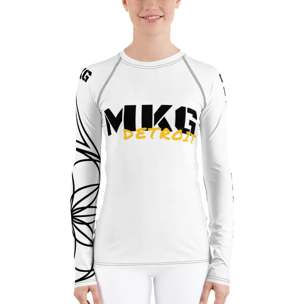 MKG Detroit Hustle - Women's Rash Guard