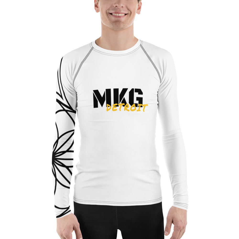 MKG Detroit Hustle - Men's Rash Guard