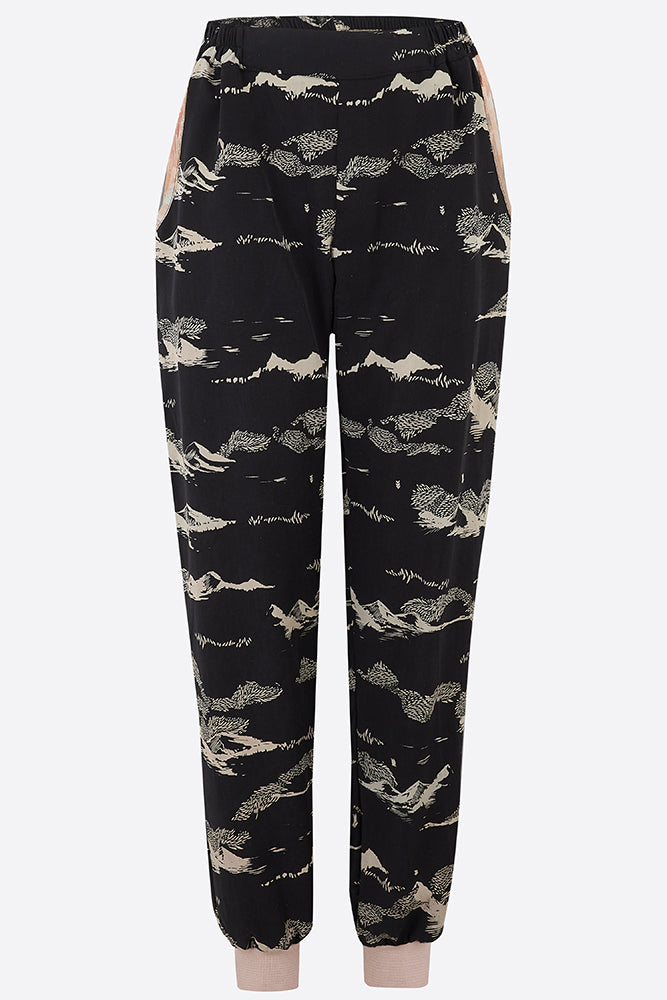 Black mountain Tencel joggers