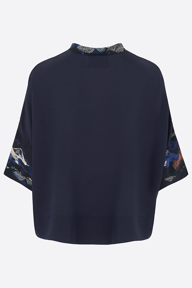 Jude Tailored Silk Shirt