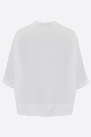 Sophie Darling White Tencel Shirt Made In UK